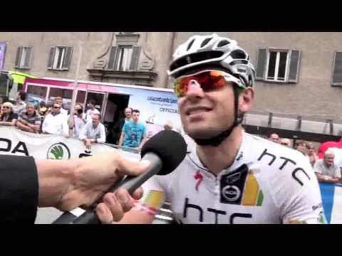 2011 Giro d'italia Alex Rasmussen's First Grand Tour