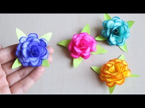 Diy How To Make Small Paper Rose Flower Diy Handmade Craft Paper Craft Mini Flower
