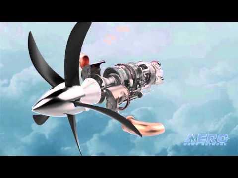 Aero-TV: GE's 'ATP' Program - Tomorrow's Turbo-Prop!