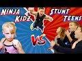 WHO WILL WIN? Ninja Kidz vs Stunt Teens!