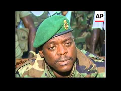 SIERRA LEONE: COUP LEADER KOROMA SPEAKS OF CRISIS IN COUNTRY