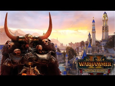 MORTAL EMPIRES CAMPAIGN – Archaon's Chaos Invasion of Ulthuan – Total War Warhammer 2