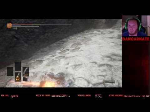 Dark Souls 3 Ashes of Ariandel Blind Playthrough