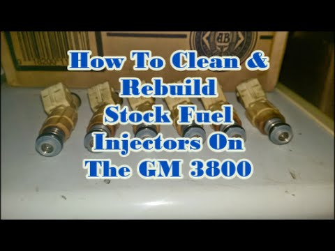 How To Clean And Rebuild    Fuel       Injectors    On The GM    3800      YouTube