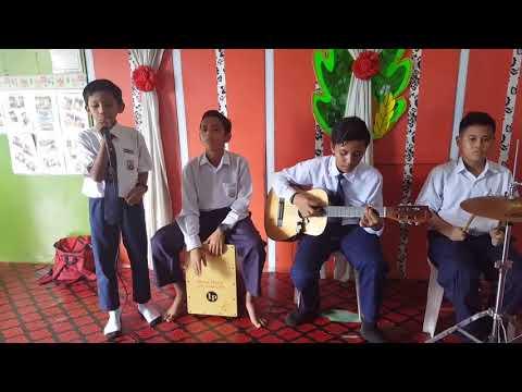 Budak Sekolah Nyanyi Lagu Aiman Tino - Ku Hanya Sayang Padamu | Akustik - Suara Sedap Terbaik