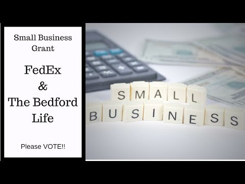 FedEx Grant Video- Woman Owned Small Business - American Made Products