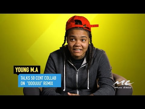 Young M.A Talks 50 Cent Collab