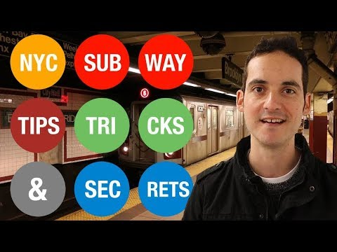 NYC Subway Tips, Tricks, And SECRETS !