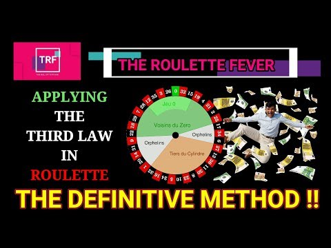 Applying the THIRD LAW IN ROULETTE - THE DEFINITIVE METHOD!! - 동영상