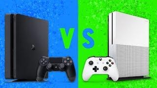 Что выбрать PS4 Slim или Xbox One S