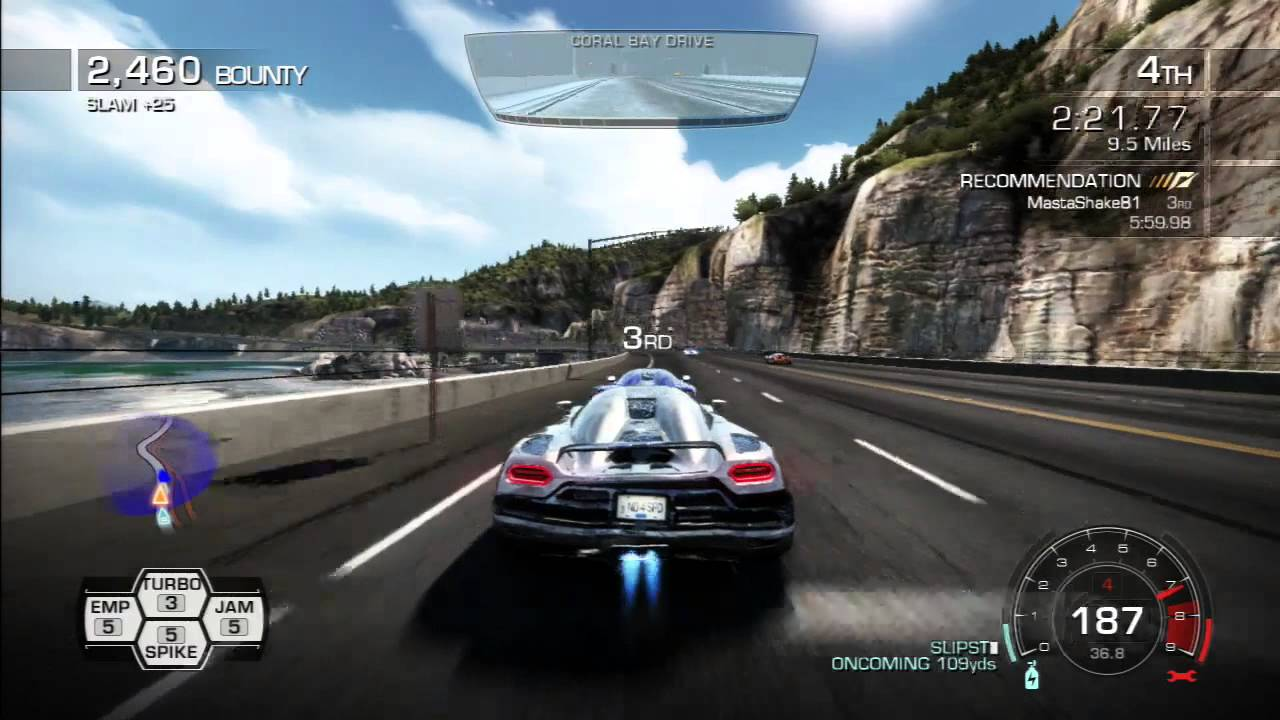 Need for Speed: Hot Pursuit PS3 (Highway Battle) Busted - YouTube