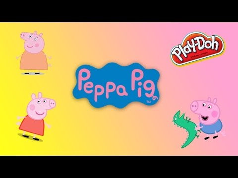 Peppa Pig's Red Car Play-Doh Muddy Puddles