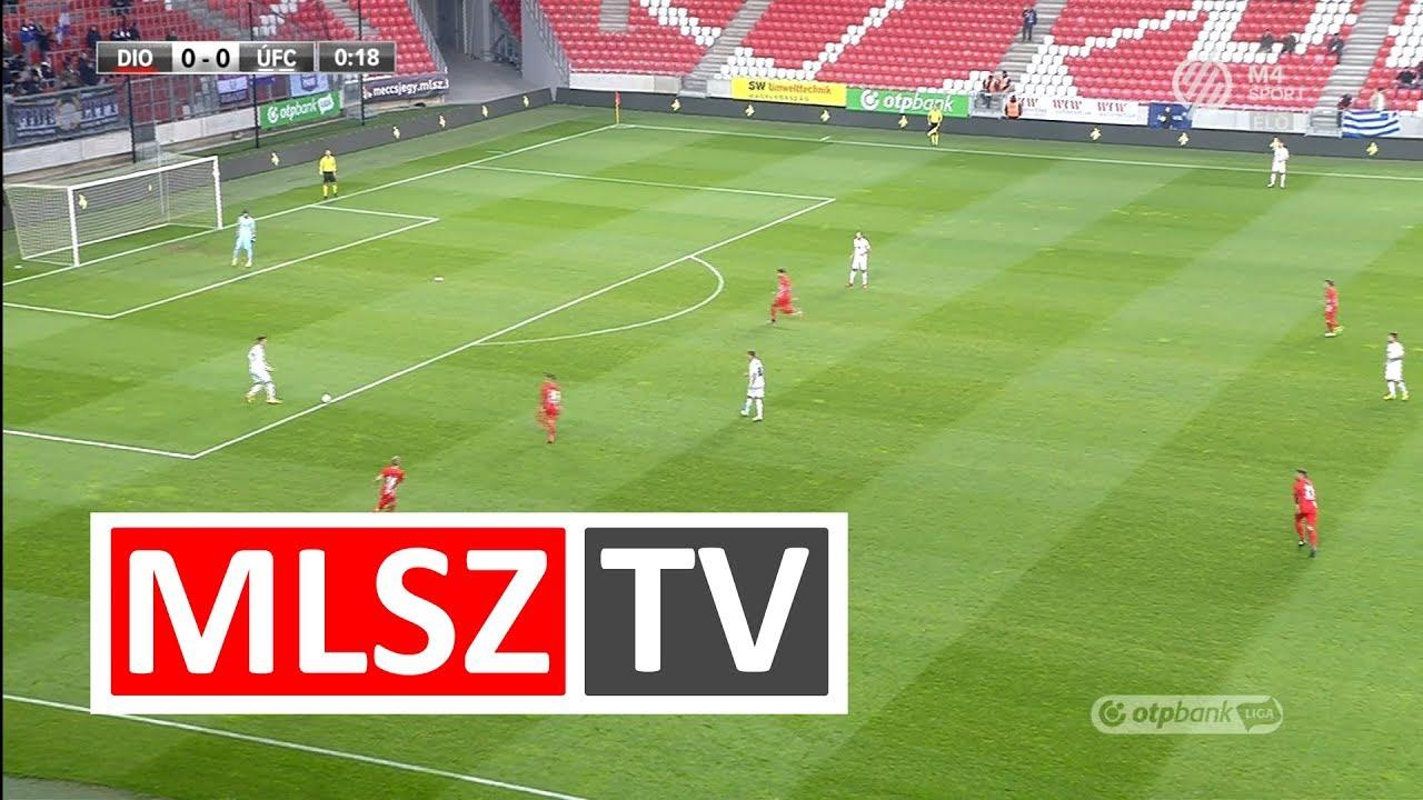 DVTK - Újpest FC | 1-2 | OTP Bank Liga | 17. forduló | MLSZTV