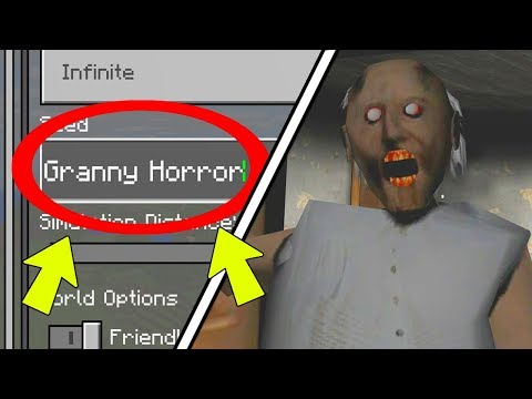 "NEVER Play Minecraft SURVIVAL on GRANNY HORROR WORLD! (Haunted ""GRANNY"" Seed)"