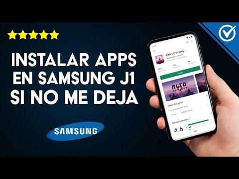 Cómo Instalar Aplicaciones en Samsung J1, J2,J5, J6 y J7 si no me deja o no Puedo