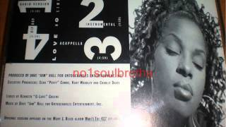 "Mary J. Blige ""Love No Limit"" (Hip Hop Mix - Promo CD)"