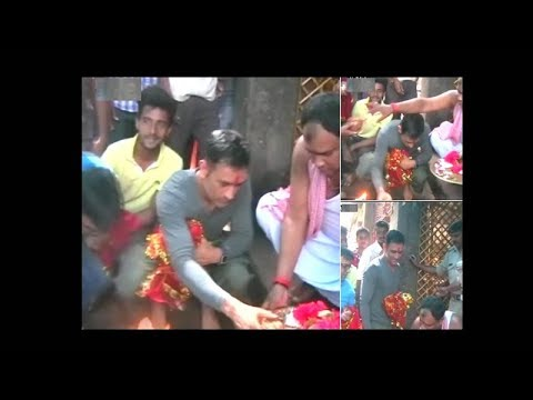 Watch: MS Dhoni offers prayers at Deori temple