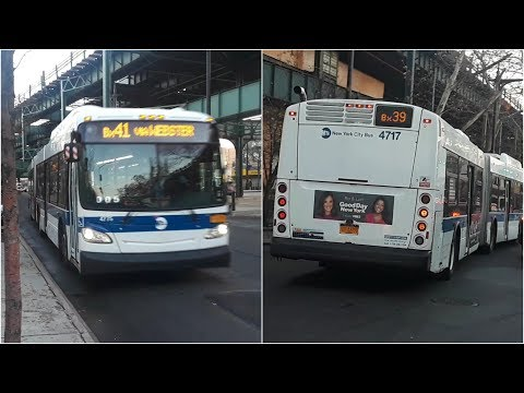 MTA: 2012 New Flyer XD60's [4775]/[4717] Bx41/Bx39 Buses