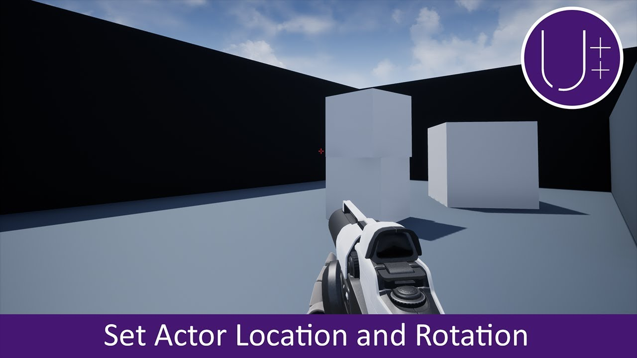 Unreal Engine 4 C++ Tutorial: Set Actor Location and Rotation