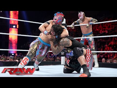 The Usos Vs. The Lucha Dragons – Nr. 1 Herausforderer Match: Raw – 30. November 2015