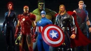 Marvel Heroes Opening Cinematic