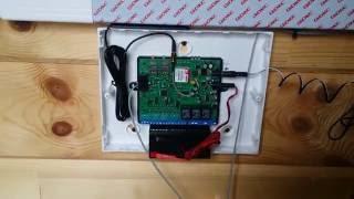 Обзор системы GSM контроля Кситал 12т (СтроимТепло.Ру)