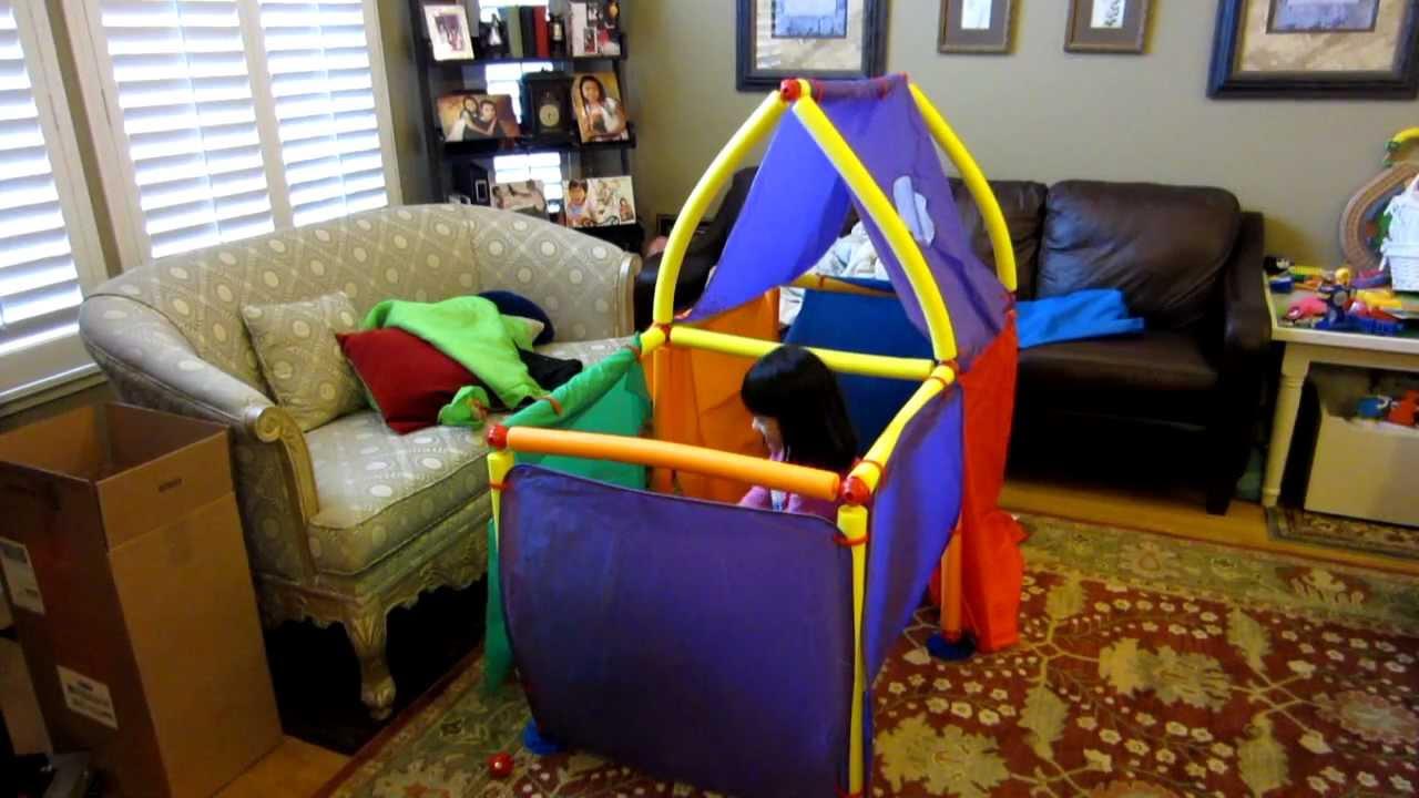 Cranium Super Fort Foam Playhouse Tent Building Set