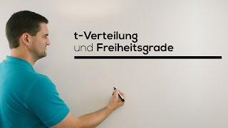 t-Verteilung und Freiheitsgrade (Degrees of Freedom), Mathe by Daniel Jung