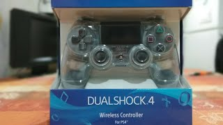 Unboxing Gamestop Exclusive Chrsyal Clear Playstation 4 Controller  Black Friday Deals!