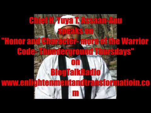 "Chief Yuya on ""Honor & Character  more of the Warrior Code"""