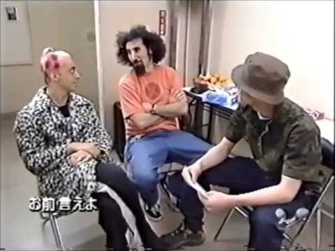 System of a Down : Japan 1999 (Rare interview)