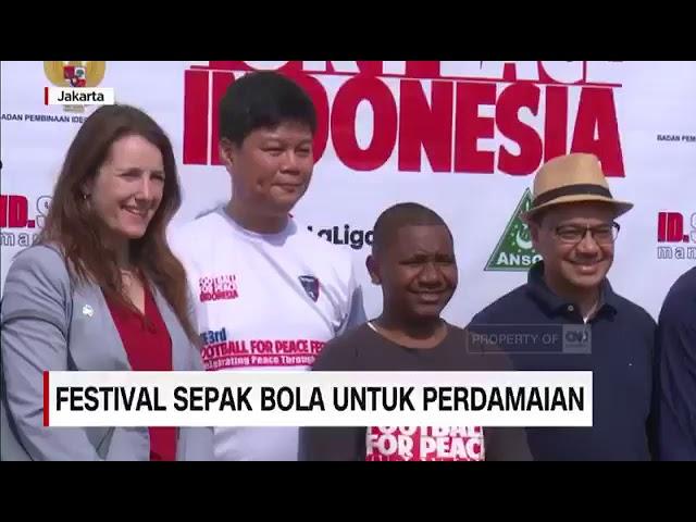 3rd Football For Peace Jakarta - Liputan TV CNN