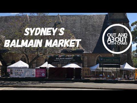 Sydney's Balmain Market