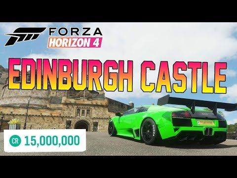 Forza Horizon 4 - BUYING THE $15,000,000 EDINBURGH CASTLE! What Happens?