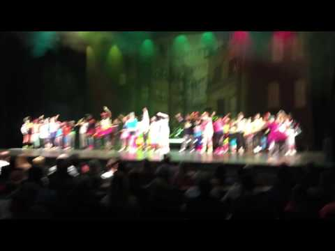 """2017 Best Foot Forward Murrayville Elementary School. """"All Night Long"""" by Lionel Richie"""