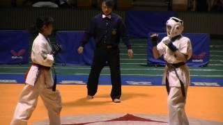 2013,11.4 IBKO全日本大会 中学女子の部 優勝 (No214) 全日本タイトル連...
