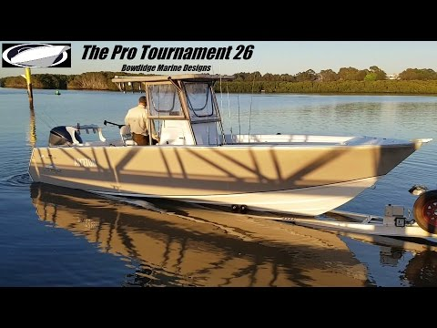 "The ""Pro Tournament 26"" offshore powerboat design - Bowdidge Marine Designs"