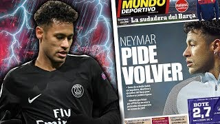 REVEALED: Neymar Hints At Real Madrid Transfer After His Regret Joining PSG! | Continental Club