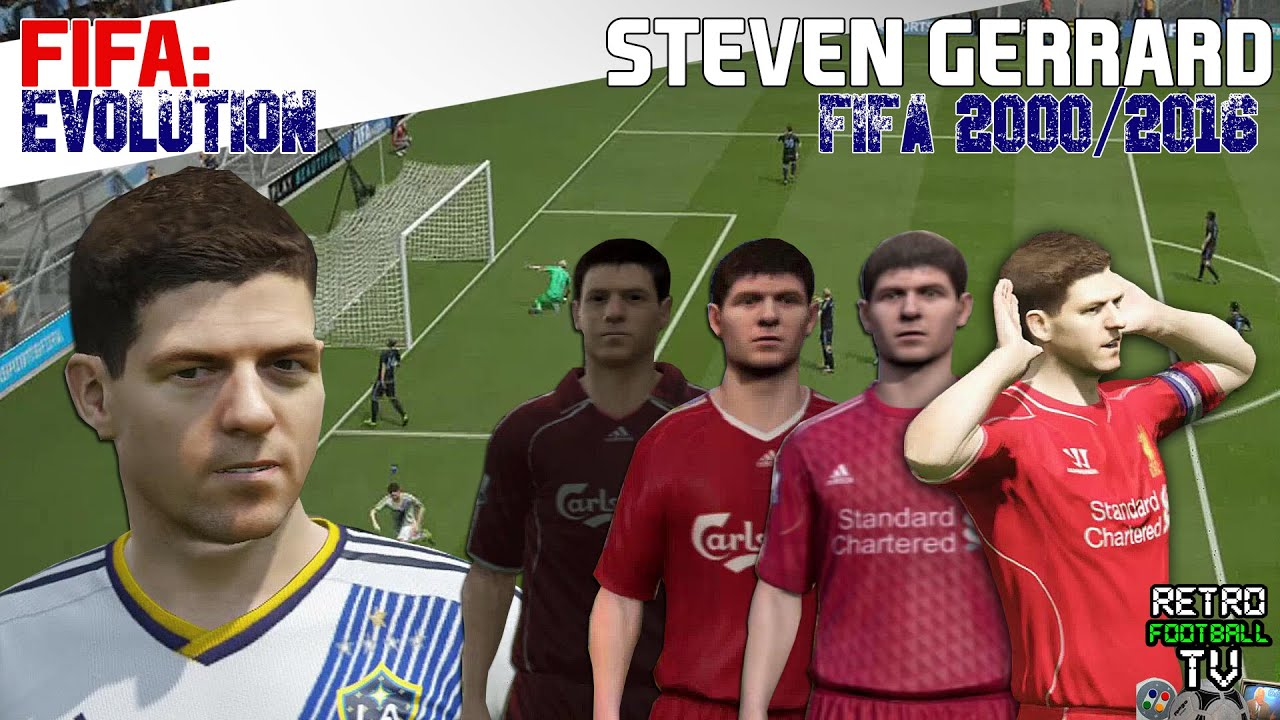 1326b2f3781 The Evolution of Stevie Gerrard through the FIFA Series! (Feat. Retro  Football TV)