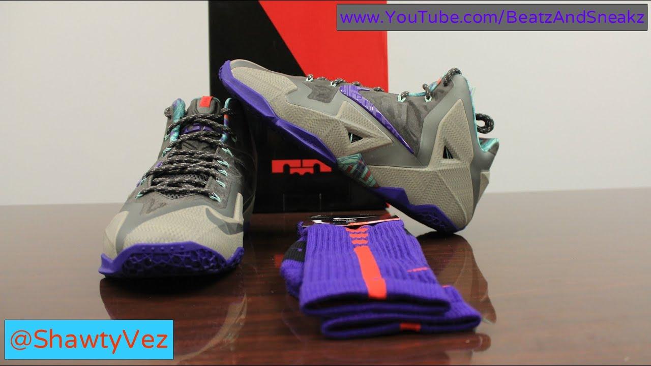 00c95777ff4d Nike LeBron 11 Terracotta Warrior Review - YouTube