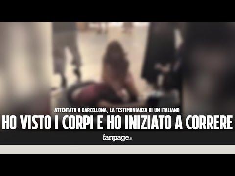 """Attentato Barcellona, un italiano: """"Ho visto i corpi e ho iniziato a correre. Sono chiuso in un bar"""""""
