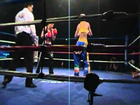 7 Mie Posselt vs Natalie McCarron   ISKA   World Title Full Contact 10 Rounds Night Of Champions by Chin gu