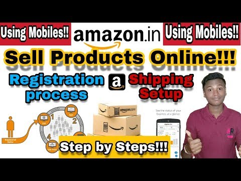 How to Sell on Amazon | How to Register and Activate Amazon india seller Account and Shipping Setup