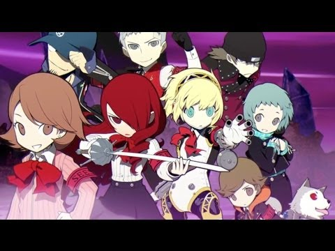 Persona Q: Shadow of the Labyrinth - Teaser Trailer