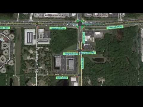 Whole Foods Traffic Simulation - Sarasota, Florida