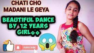 😱janamashtmi songs||Chati cho madani le gya... beutiful dance by 12 years girl😱||full  video
