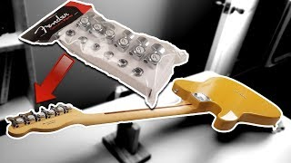 HOW TO - Install FENDER LOCKING TUNERS!