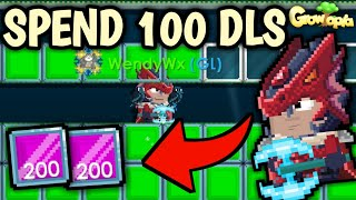 BUILD PRO BREAK WORLD FULL SHIFTY BLOCK (SPEND 100 DLS) | Growtopia