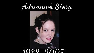 The Story Of Adrianne Reynolds