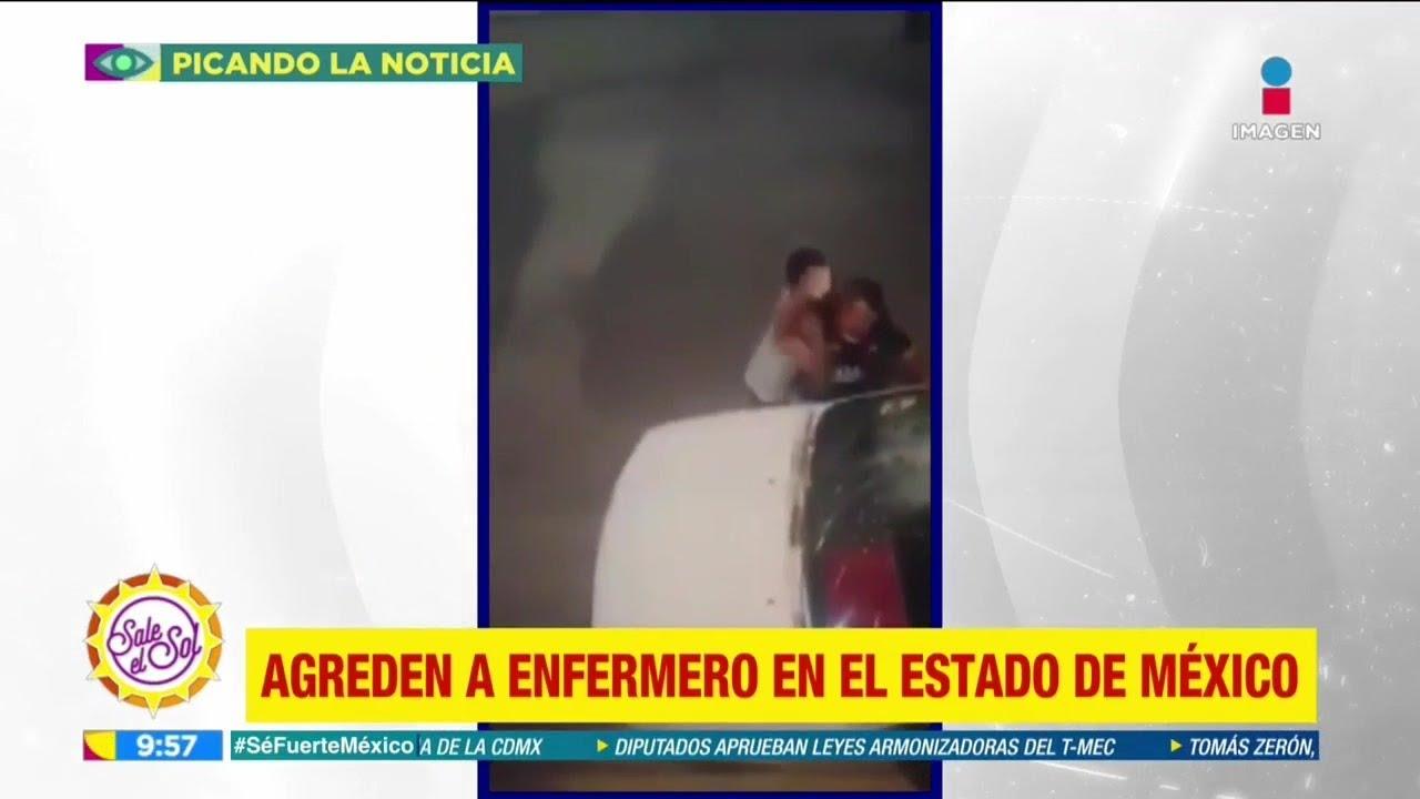 Agreden a enfermero en el Estado de México por creer que tenía COVID-19